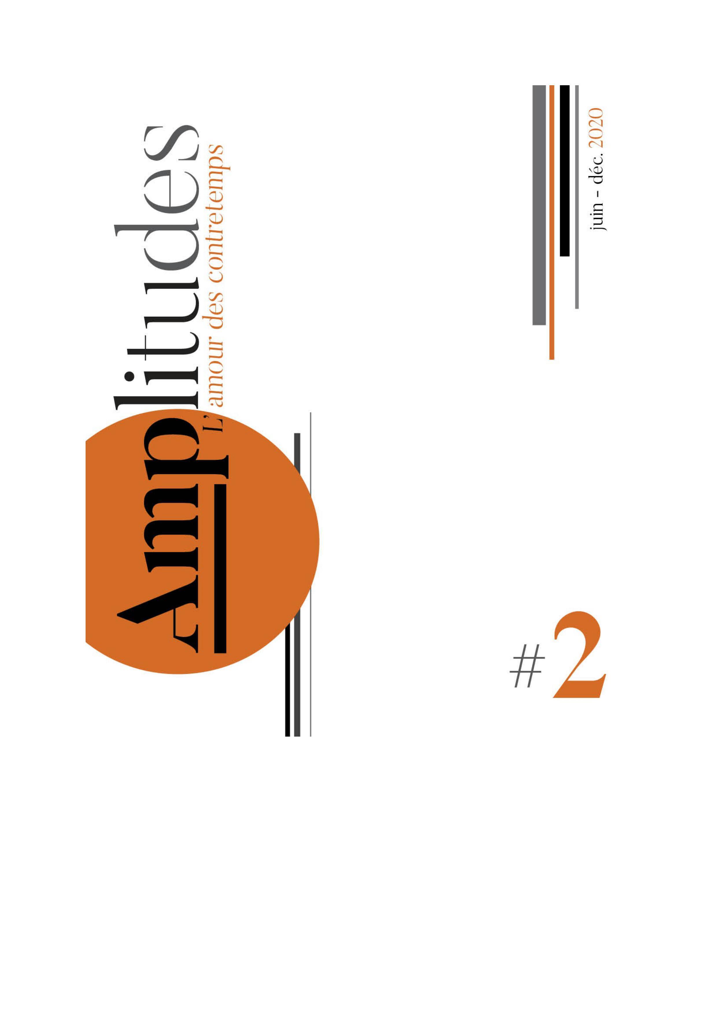 Revue AMPLITUDES - parution du #2  mi-septembre 2020 !