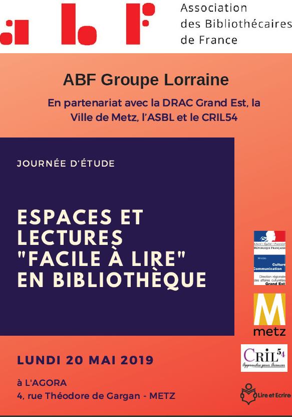 Journée d'étude : espaces et lectures