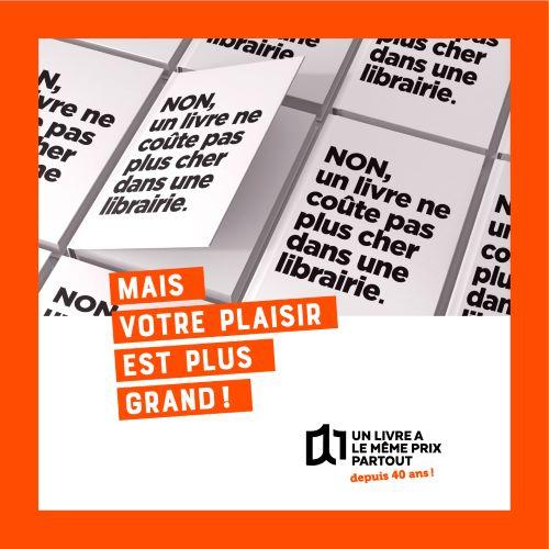 Campagne Loi Lang : un livre a le même prix partout