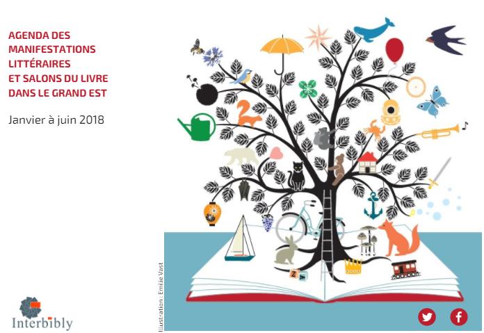 Agenda des manifestations littéraires du Grand Est