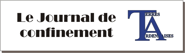 Journal de confinement - Terres Ardennaises