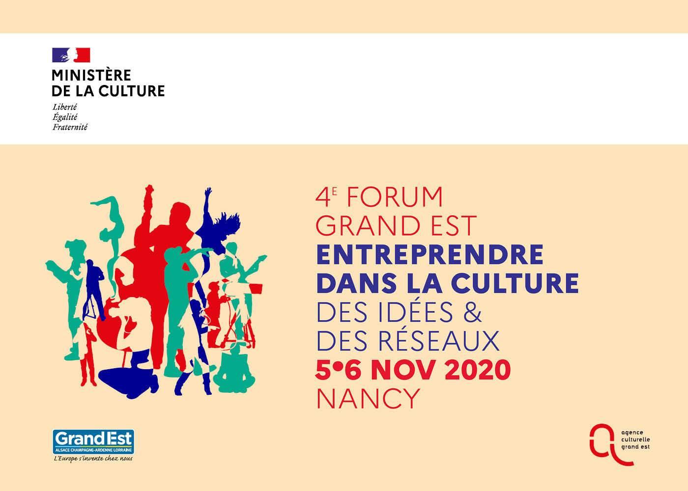 Inscrivez-vous au Forum Grand Est Entreprendre dans la culture 2020