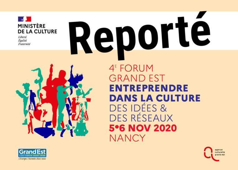 REPORT | Forum Grand Est Entreprendre dans la culture 2020
