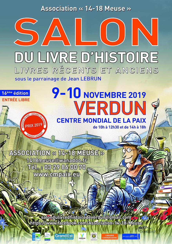 Salon du livre d'histoire de Verdun