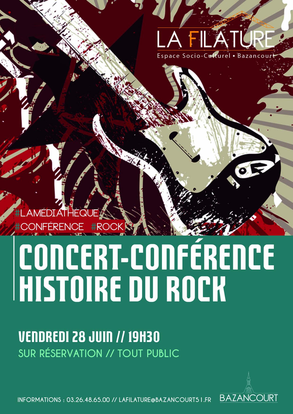 Concert-Conférence / Histoire du rock