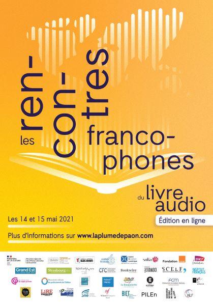 1eres Rencontres francophones du livre audio : inscrivez-vous aux tables rondes !