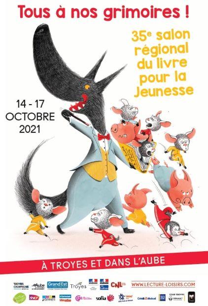 35 ème salon régional du livre pour la jeunesse