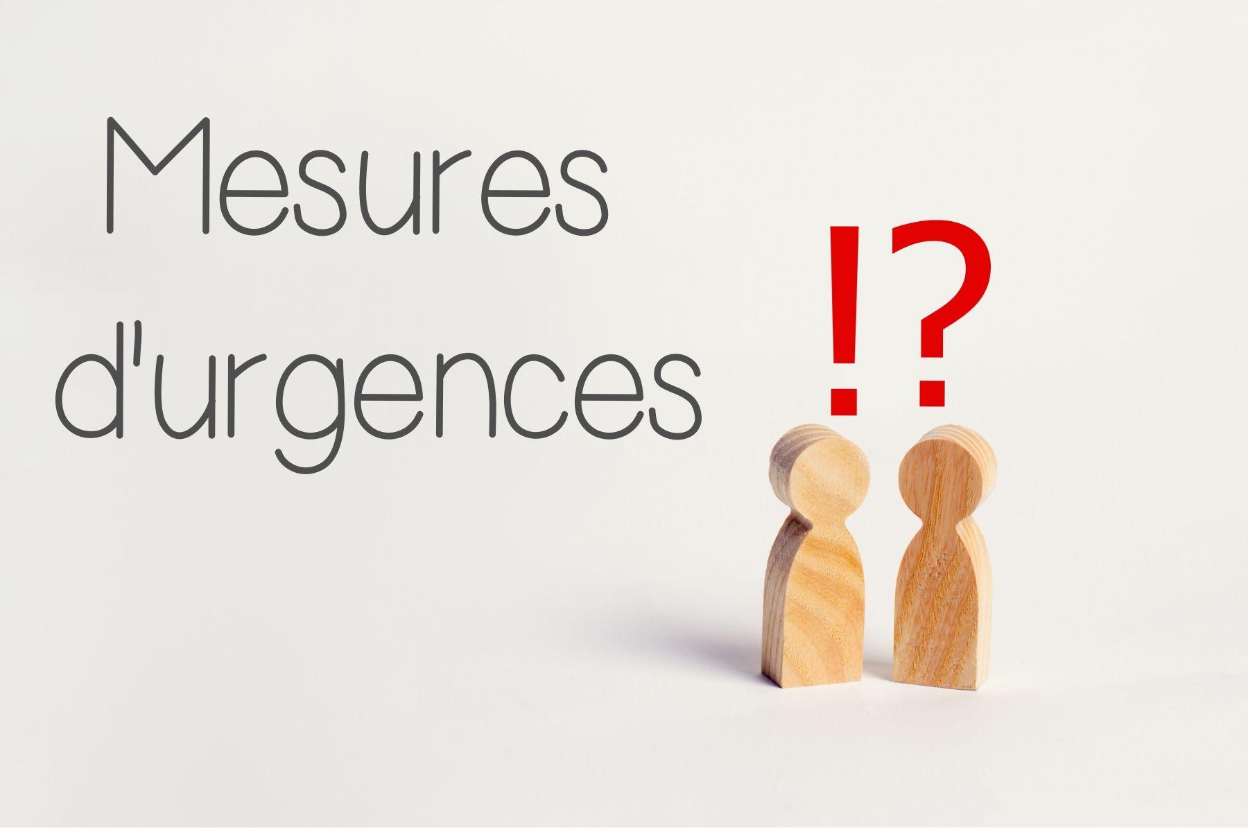 Aides d'urgence et ressources