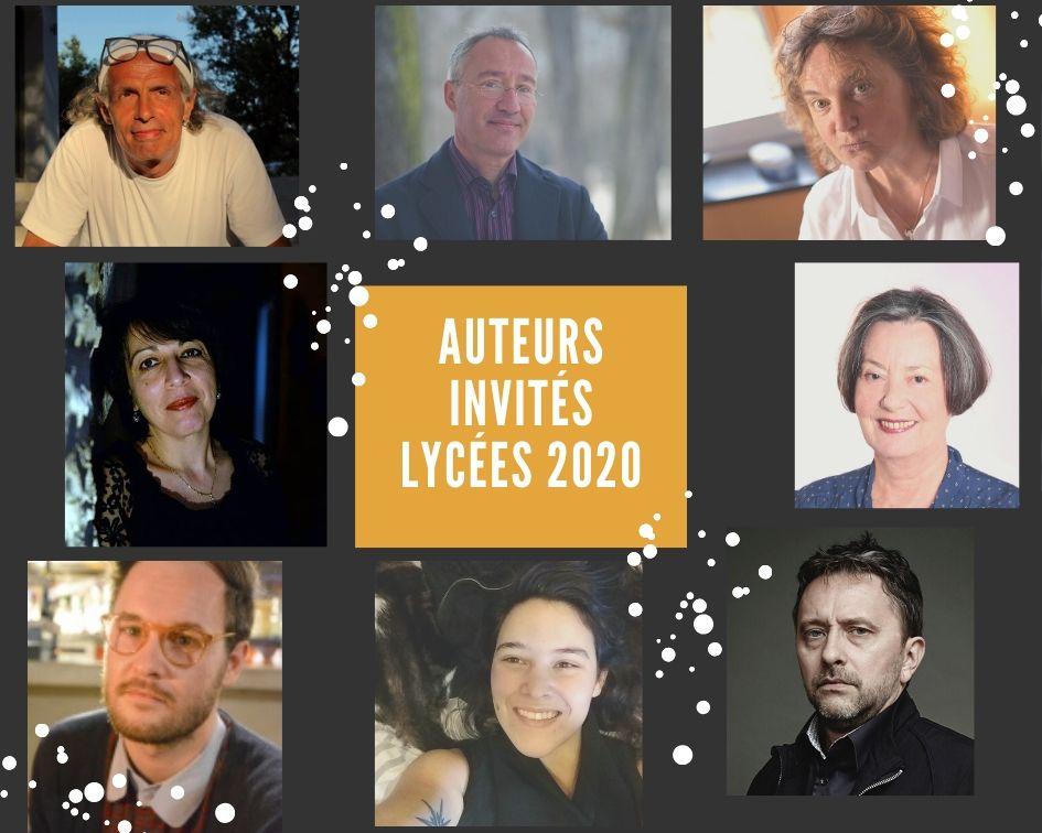 Rencontres d'auteurs en lycées Grand Est 2020