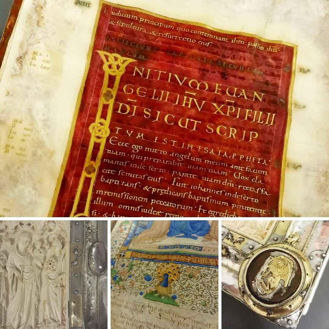Le luxe éblouissant d'un manuscrit carolingien