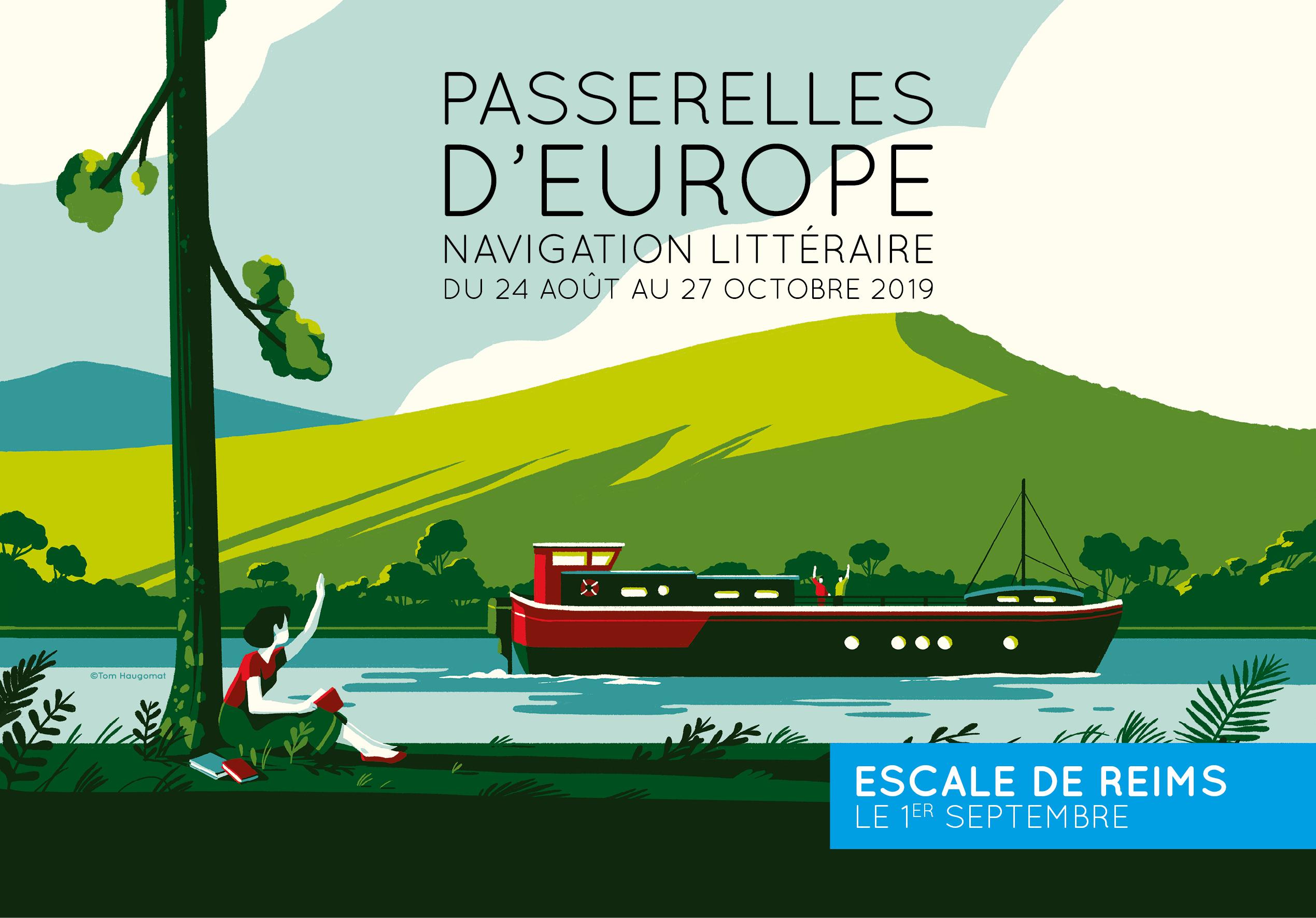 Passerelles d'Europe : navigation littéraire