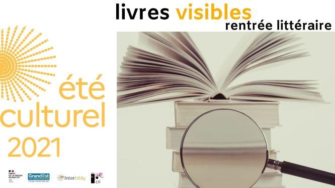Eté culturel_Livres visibles : participez à l'opération !