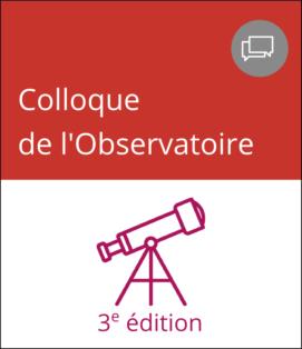 3e édition du colloque annuel de l'Observatoire de la lecture des adolescents