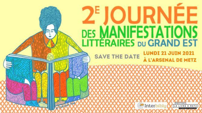 A vos agendas !  21/06 : 2e journée des manifestations littéraires du Grand Est