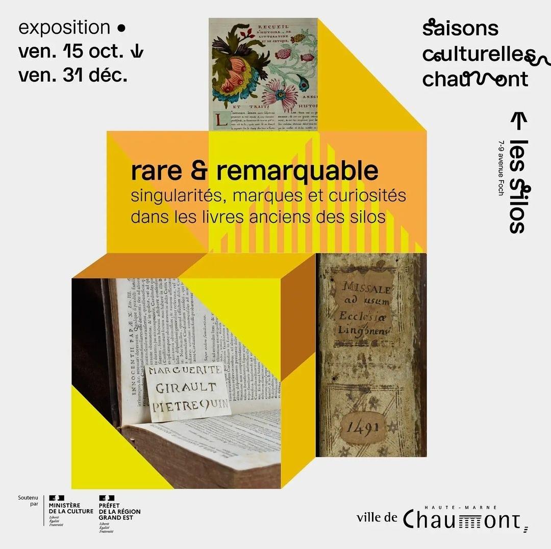Patrimoine / Exposition rare & remarquable à Chaumont
