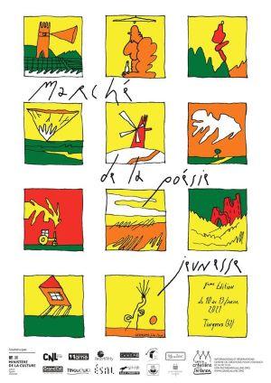 Un beau programme pour le  8e Marché de la poésie jeunesse  de Tinqueux