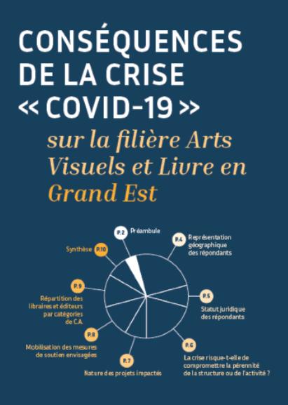 Résultats de l'enquête d'impact sur la filière livre et arts visuels en région Grand Est